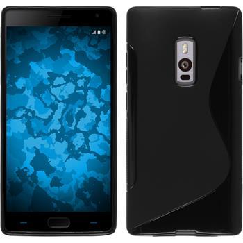 Silikonhülle für OnePlus OnePlus 2 S-Style schwarz