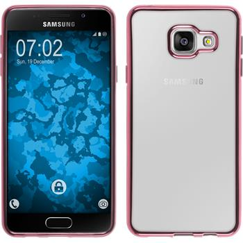 Silikon Hülle Galaxy A3 (2016) A310 Slim Fit pink