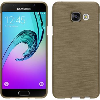 Silikon Hülle Galaxy A3 (2016) A310 brushed gold