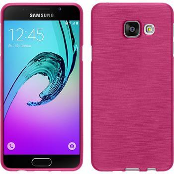 Silikonhülle für Samsung Galaxy A3 (2016) A310 brushed pink