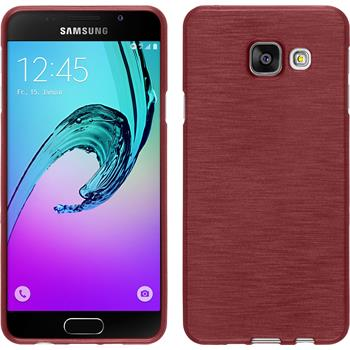 Silikonhülle für Samsung Galaxy A3 (2016) A310 brushed rosa