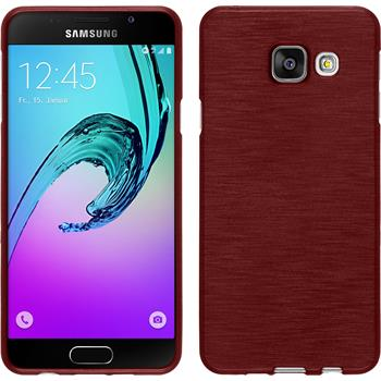 Silikon Hülle Galaxy A3 (2016) A310 brushed rot