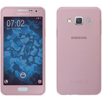 Silikon Hülle Galaxy A3 (A300) 360° Fullbody rosa Case