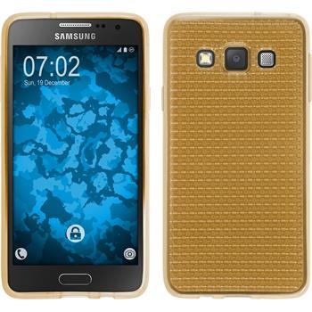 Silikon Hülle Galaxy A3 (A300) Iced gold