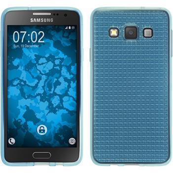 Silikon Hülle Galaxy A3 (A300) Iced hellblau