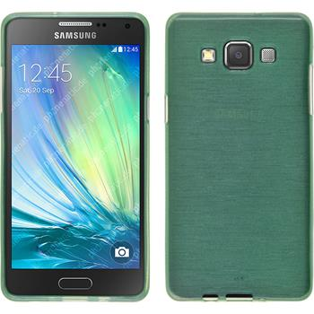 Silikon Hülle Galaxy A3 (A300) brushed grün