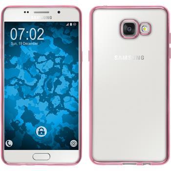 Silikon Hülle Galaxy A5 (2016) A510 Slim Fit pink