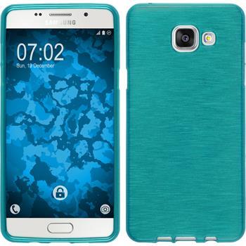 Silikonhülle für Samsung Galaxy A5 (2016) A510 brushed blau