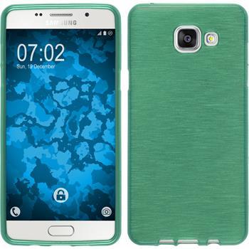 Silikon Hülle Galaxy A5 (2016) A510 brushed grün