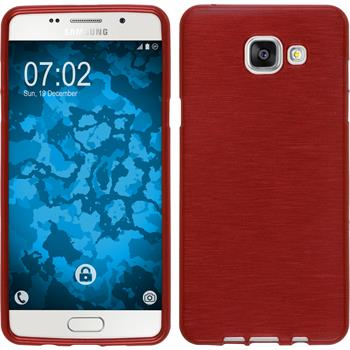 Silikon Hülle Galaxy A5 (2016) A510 brushed rot
