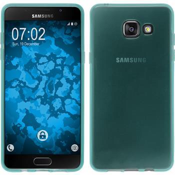 Silikon Hülle Galaxy A5 (2016) A510 transparent türkis