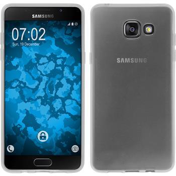Silikon Hülle Galaxy A5 (2016) A510 transparent weiß