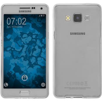 Silikonhülle für Samsung Galaxy A5 (A500) 360° Fullbody grau