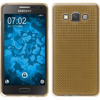 Silikon Hülle Galaxy A5 (A500) Iced gold