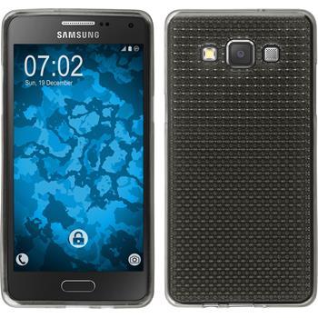 Silikon Hülle Galaxy A5 (A500) Iced grau