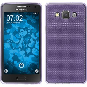 Silikonhülle für Samsung Galaxy A5 (A500) Iced lila