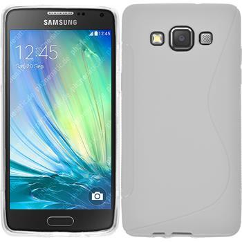 Silikon Hülle Galaxy A5 (A500) S-Style weiß