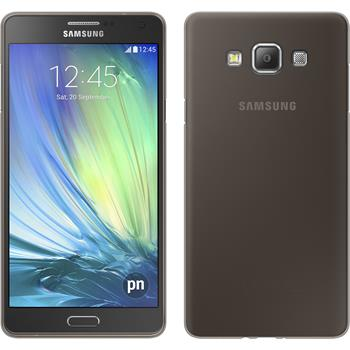 Silikon Hülle Galaxy A5 (A500) Slimcase grau
