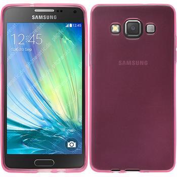 Silikon Hülle Galaxy A5 (A500) transparent rosa