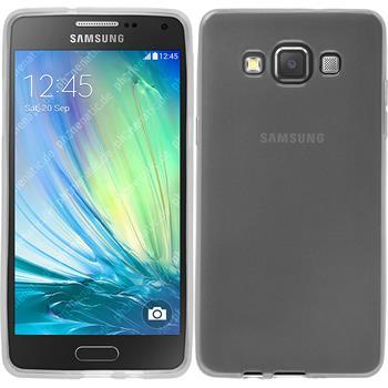 Silikon Hülle Galaxy A5 (A500) transparent weiß