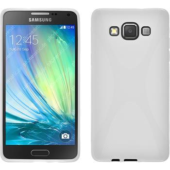 Silikon Hülle Galaxy A5 (A500) X-Style weiß
