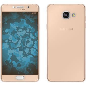 Silikon Hülle Galaxy A7 (2016) A710 360° Fullbody gold