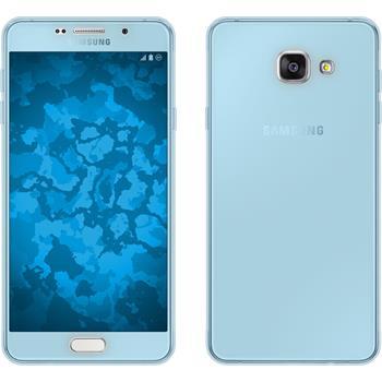 Silikon Hülle Galaxy A7 (2016) A710 360° Fullbody hellblau