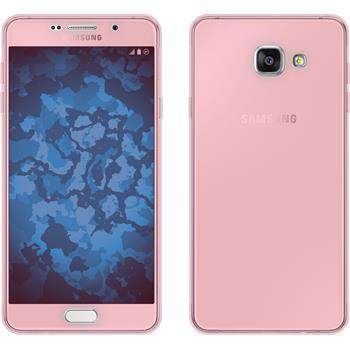 Silikonhülle für Samsung Galaxy A7 (2016) A710 360° Fullbody rosa
