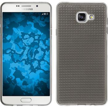 Silikon Hülle Galaxy A7 (2016) A710 Iced grau