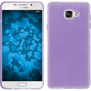 Silikonhülle für Samsung Galaxy A7 (2016) A710 Iced lila