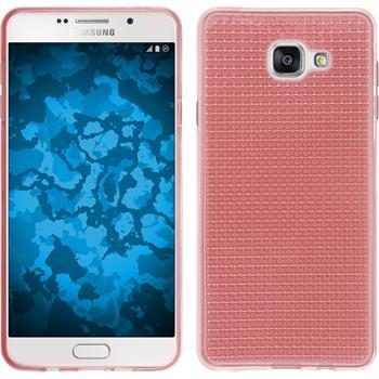 Silikon Hülle Galaxy A7 (2016) A710 Iced rosa