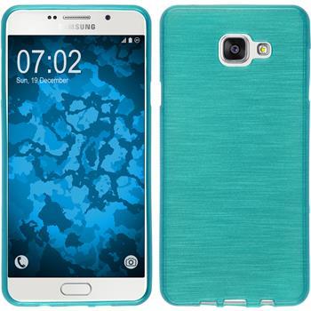 Silikon Hülle Galaxy A7 (2016) A710 brushed blau