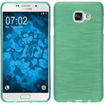 Silikon Hülle Galaxy A7 (2016) A710 brushed grün