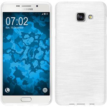 Silikon Hülle Galaxy A7 (2016) A710 brushed weiß