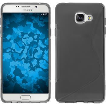 Silikon Hülle Galaxy A7 (2016) A710 S-Style grau