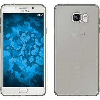 Silikonhülle für Samsung Galaxy A7 (2016) A710 Slimcase grau