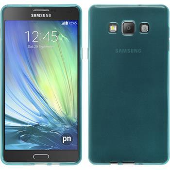 Silikon Hülle Galaxy A7 (A700) transparent türkis