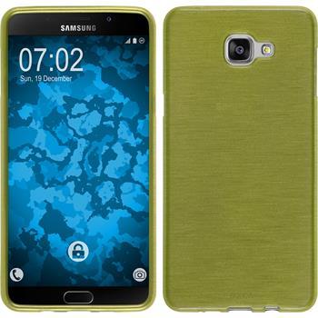 Silikon Hülle Galaxy A9 brushed pastellgrün