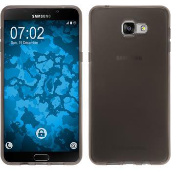 Silikon Hülle Galaxy A9 transparent schwarz