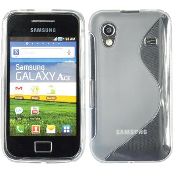 Silicone Case for Samsung Galaxy Ace S-Style transparent