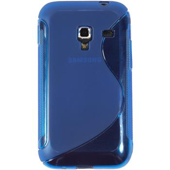 Silicone Case for Samsung Galaxy Ace Plus S-Style blue