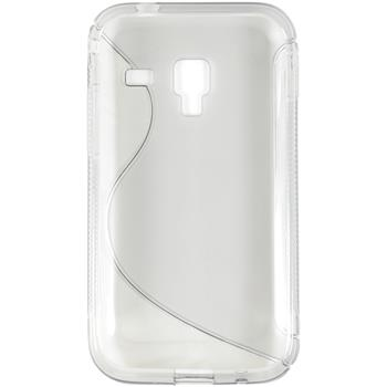 Silicone Case for Samsung Galaxy Ace Plus S-Style transparent