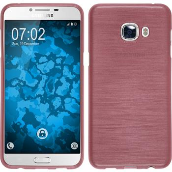 Silikon Hülle Galaxy C5 brushed rosa