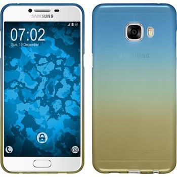 Silikon Hülle Galaxy C5 Ombrè Design:02