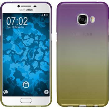 Silikon Hülle Galaxy C5 Ombrè Design:05