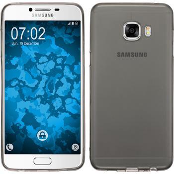 Silikon Hülle Galaxy C5 Slimcase grau