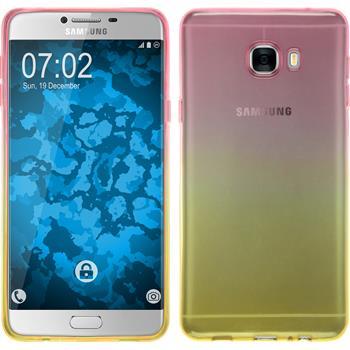 Silikon Hülle Galaxy C7 Ombrè Design:01