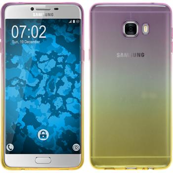Silikon Hülle Galaxy C7 Ombrè Design:05