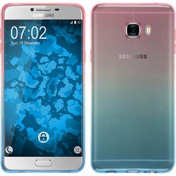Silikon Hülle Galaxy C7 Ombrè Design:06