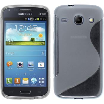 Silicone Case for Samsung Galaxy Core S-Style transparent